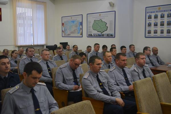 В УФСИН организовали учебно-методические сборы